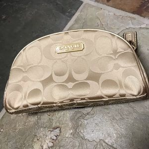 Authentic Coach Make-up Bag